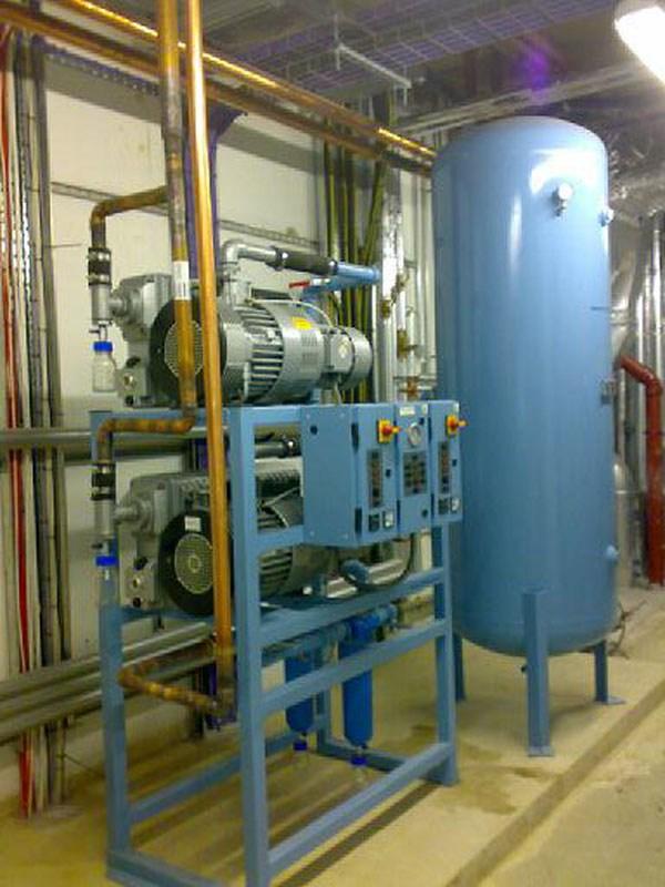 Medical-Vacuum-Plant